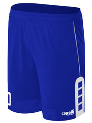 MILLSTONE UNITED CONDOR SHORTS --   ROYAL BLUE WHITE