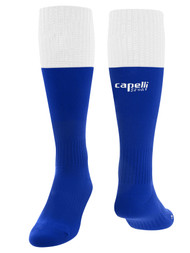 MILLSTONE UNITED CONDOR SOCKS --   ROYAL BLUE WHITE