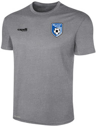 MILLSTONE UNITED BASICS TRAINING JERSEY --  LIGHT HEATHER GREY