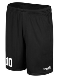 MILLSTONE UNITED CS ONE SHORTS --  BLACK