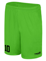 MILLSTONE UNITED CS ONE GOALKEEPER SHORTS --  POWER GREEN BLACK