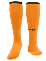 MILLSTONE UNITED CS ONE GK  SOCKS --   NEON ORANGE BLACK