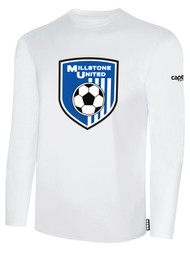MILLSTONE UNITED LONG SLEEVE T-SHIRT - WHITE