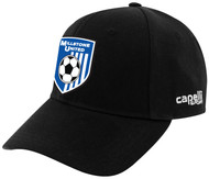 CS II TEAM BASEBALL HAT  -- BLACK WHITE