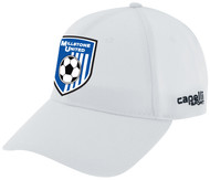 MILLSTONE UNITED CS II TEAM BASEBALL HAT  -- WHITE BLACK