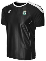 ROCHESTER JUNIOR RHINOS  CONDOR SHORT SLEEVE JERSEY-- BLACK WHITE  ($40-$50)