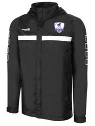 AIKEN FC SPARROW JACKET --   BLACK WHITE