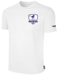 AIKEN FC BASICS T-SHIRT    --   WHITE