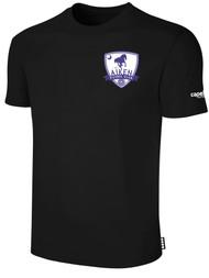 AIKEN FC BASICS T-SHIRT    --   BLACK