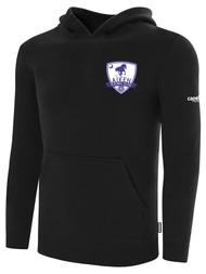 AIKEN FC BASICS FLEECE HOODIE     -- BLACK