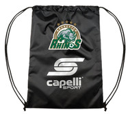 ROCHESTER JUNIOR RHINOS PROMO SACKPACK -- BLACK