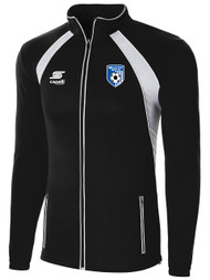 MILLSTONE UNITED RAVEN TRAINING JACKET --  BLACK WHITE