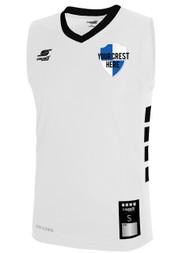 96b00a1ede91 PAL CAPELLI SPORT UPTOWN BASKETBALL JERSEY -- WHITE BLACK ( 13.75 -  15)
