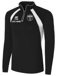 CLARKSTOWN RAVEN 1/4 ZIP TRAINING TOP $55- $60