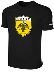 DOXA SC COTTON SHORT SLEEVES T-SHIRT -- BLACK   $14 - $16