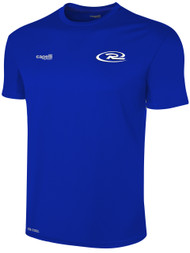 RUSH CONNECTICUT CENTRAL  BASICS TRAINING JERSEY -- ROYAL BLUE