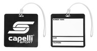 RUSH CONNECTICUT CENTRAL CS ONE BAG TAG  -- BLACK COMBO