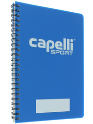 RUSH CONNECTICUT CENTRAL CS MINI SOCCER NOTEBOOK  -- PROMO BLUE WHITE