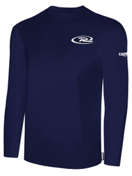 RUSH WISCONSIN  LONG SLEEVE TSHIRT -- NAVY