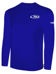 RUSH WISCONSIN  LONG SLEEVE TSHIRT -- ROYAL BLUE