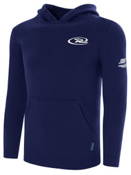 RUSH WISCONSIN BASICS HOODIE --NAVY  --  AXXL IS ON BACK ORDER, WILL SHIP BY 12/27
