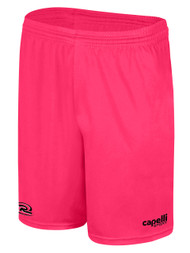 RUSH WISCONSIN CS ONE TRAINING SHORTS  --  NEON PINK BLACK