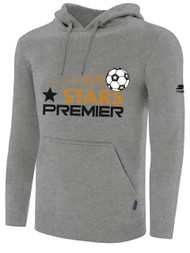 STARS PREMIER BASIC HOODIE --  LIGHT HEATHER GREY