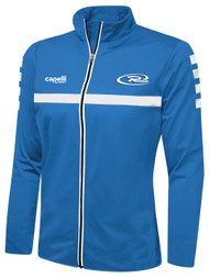 RUSH WISCONSIN SPARROW TRAINING FULL ZIP JACKET-- BLUE WHITE