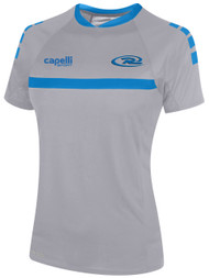 RUSH WISCONSIN SPARROW SHORT SLEEVE TRAINING JERSEY-- GREY BLUE