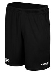 RUSH WISCONSIN CS ONE TRAINING SHORTS -- BLACK