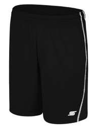 MANDATORY UNITED RAVEN SHORTS $11.2-$12.6 -- BLACK WHITE