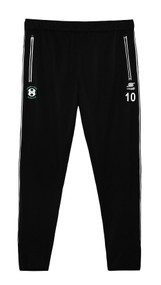 CORNWALL UNITED RAVEN TRAINING PANTS $24.5 - $28 -- BLACK WHITE