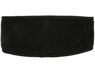 RUSH CONNECTICUT SHORELINE CAPELLI SPORT FLEECE HEADWRAP -- BLACK WHITE