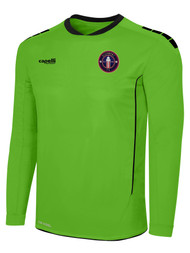 CLERMONT FC SPARROW II LONG SLEEVE GOALKEEPER JERSEY WITH PADDING POWER GREEN BLACK