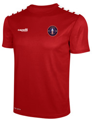 CLERMONT FC  CS ONE SHORT SLEEVE TRAINING JERSEY RED WHITE