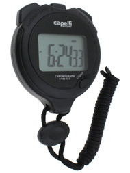 CLERMONT FC STOPWATCH BLACK WHITE