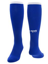 CALDWELL WEST CS ONE SOCKS  --  ROYAL BLUE WHITE