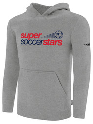 SUPER SOCCER STARS GREY HOODIE  (YOUTH  $35) -  (ADULT $40)