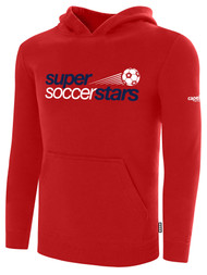 SUPER SOCCER STARS  RED HOODIE (YOUTH  $35) -  (ADULT $40 )