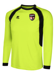 COAST FA RAVEN GOALIE JERSEY -- LIME BLACK