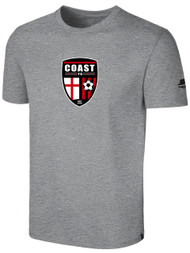 COAST FA BASIC T-SHIRT -- LIGHT HEATHER GREY
