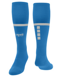 RUSH VIRGINIA SPARROW MATCH HOME SOCKS --  BLUE GREY