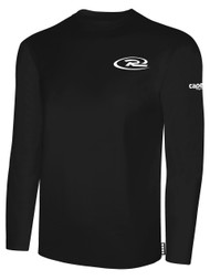 VIRGINIA RUSH LONG SLEEVE TSHIRT -- BLACK