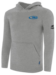 VIRGINIA RUSH BASICS HOODIE -- LIGHT HEATHER GREY --AM IS ON BACK ORDER, WILL BE SHIPPED BY 12/27