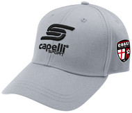 COAST FA  YOUTH BASEBALL CAP -- LIGHT GREY BLACK
