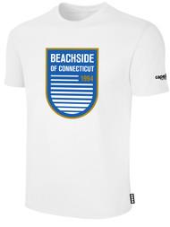 BEACHSIDE BASICS TEE SHIRT -- WHITE