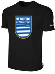 BEACHSIDE BASICS TEE SHIRT -- BLACK