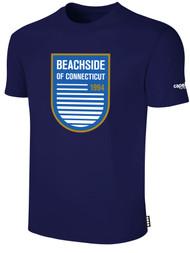 BEACHSIDE BASICS TEE SHIRT -- NAVY