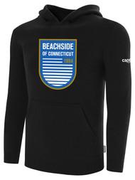 BEACHSIDE BASICS HOODIEE  -- BLACK