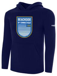 BEACHSIDE BASICS HOODIEE  --  NAVY